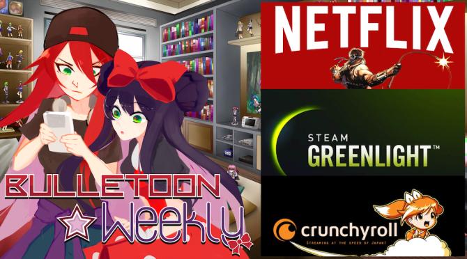 Crunchyroll Expo | Steam Direct | Castlevania – Bulletoon Weekly