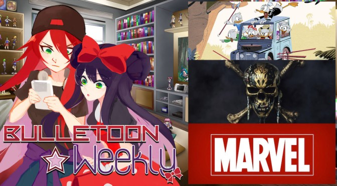 Ducktales Reboot | Pirates of the Caribbean | Avengers Anime – Bulletoon Weekly