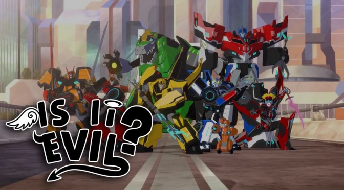 Is It Evil? – Transformers: Robots in Disguise (2015) Episode 8