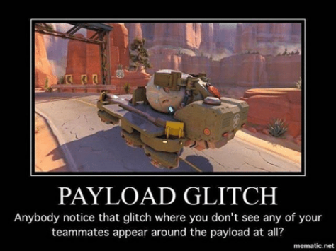 Overwatch Payload Glitch