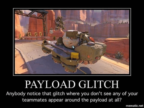 Overwatch Payload Glitch