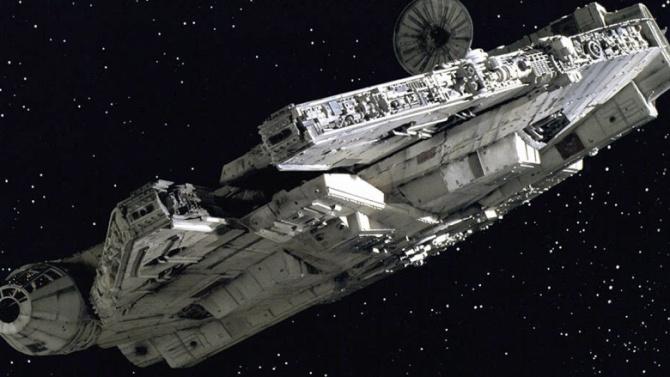 Han Solo Iconic Ship