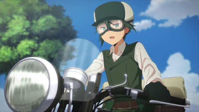 Kino's Journey: The Beautiful World (2017) – Series Premiere Review (Flash Anime-tion)