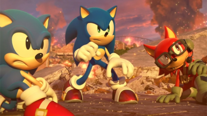 Sonic Forces – Speculation Round 1 (Scripted Gaming)
