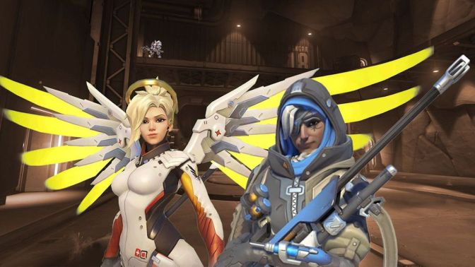 Overwatch Is Rebalancing Ana & Mercy – Scripted Gaming