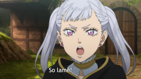 Black Clover Noelle Lame