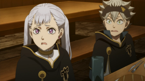 Black Clover Asta Noelle Breakfast