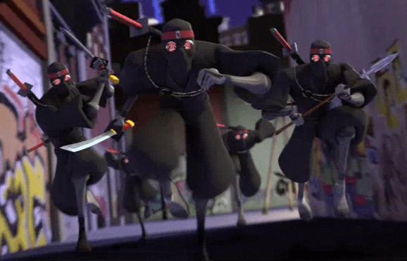 The-Foot-Clan-Nickelodeon-TMNT-Teenage-Mutant-Ninja-Turtles