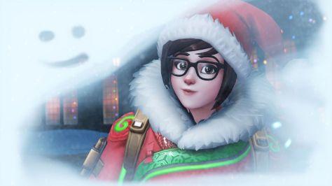 Overwatch Winter Wonderland Mei