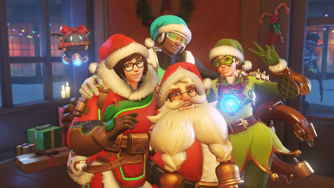 Winter Wonderland Returns to Overwatch – Scripted Gaming