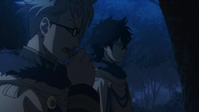 Black Clover Yuno and Klaus
