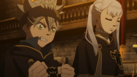 Black Clover Asta and Noelle Learn Rising Dawns Stars