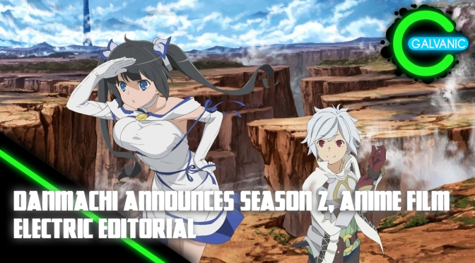 DanMachi Announces New Anime Projects! – Electric Editorial