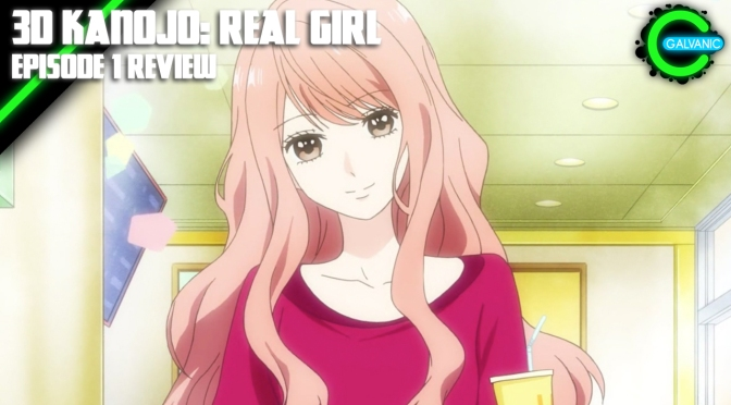 3D Kanojo: Real Girl Episode 1 | First Impression | Flash Anime-tion