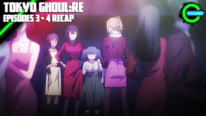Tokyo Ghoul:re – Episodes 3 – 4 Recap (Is It Evil?)