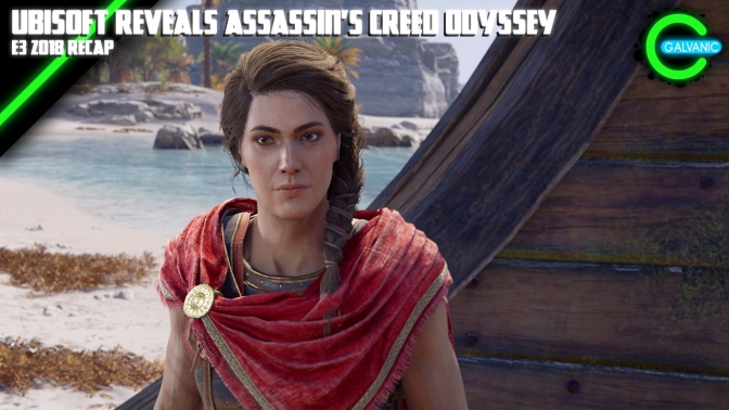 E3 2018 | Ubisoft Reveals Assassin's Creed Odyssey