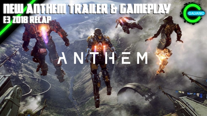 E3 2018 | EA Brings Anthem Gameplay + A Trailer