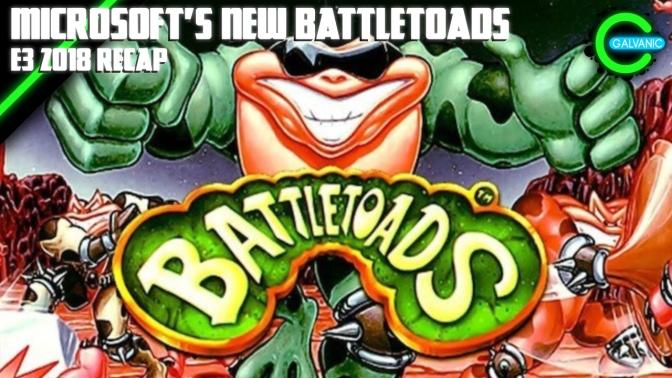 E3 2018 | Microsoft Reveals New Battletoads