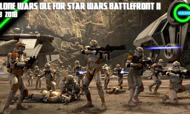 Clone Wars DLC for Battlefront II