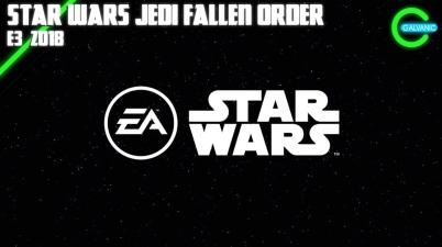 E3 2018 Star Wars Jedi Fallen Order