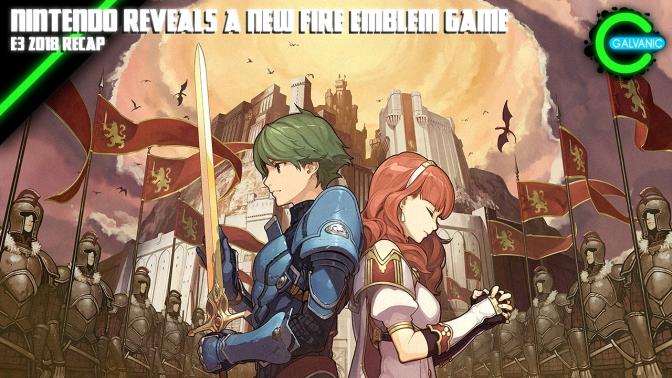 E3 2018 | Nintendo Reveals Fire Emblem Three Houses