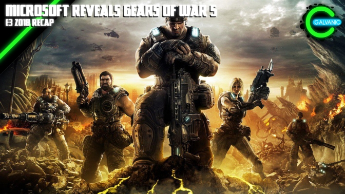 E3 2018 | Microsoft Reveals Gears of War 5