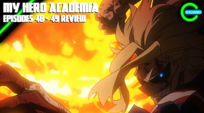 My Hero Academia Episodes 48 – 49 | I'm Not Crying! You're Crying! | Flash Anime-tion