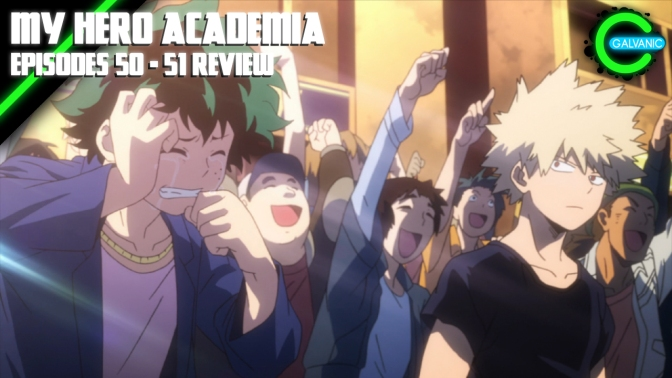 My Hero Academia Episodes 50 – 51   Let The Waterworks Commence!   Flash Anime-tion