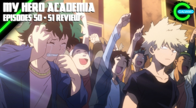 My Hero Academia Episodes 50 – 51 | Let The Waterworks Commence! | Flash Anime-tion