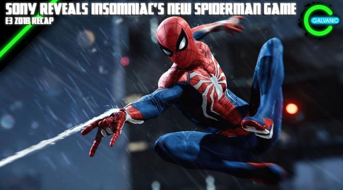 E3 2018 | Sony Reveals Insomniac's New Spiderman Game