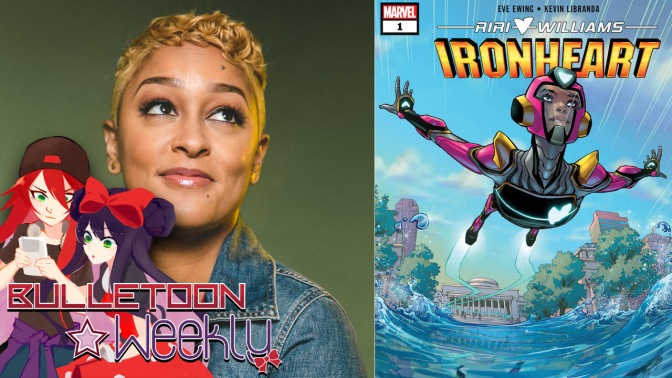 Could the Ironheart Solo Series by Eve Ewing be Awesome? | Bulletoon Weekly