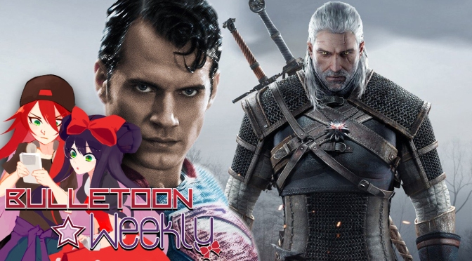 Henry Cavill IS Geralt in the Upcoming Netflix Witcher Series | Bulletoon Weekly
