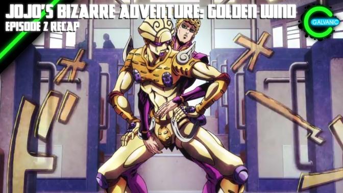JOJO'S BIZARRE ADVENTURE- GOLDEN WIND
