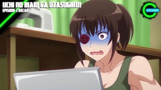 Uchi no Maid ga Uzasugiru! Episode 2 Recap | Is It Evil?