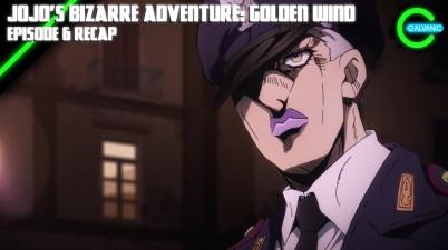 JoJo's Bizarre Adventure: Golden Wind