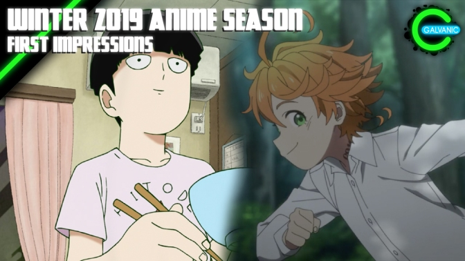 Winter 2019 Anime Season | First Impressions