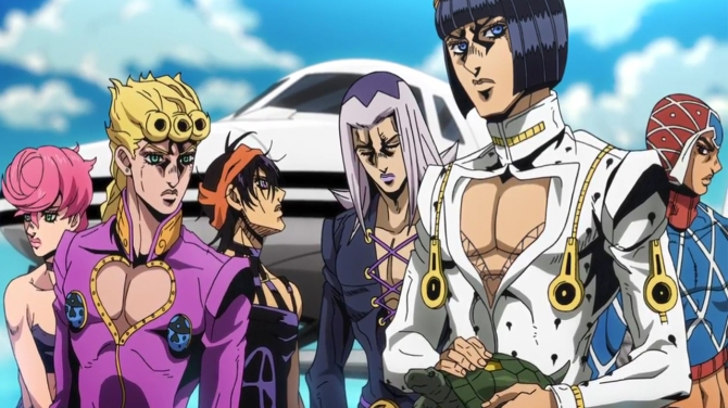 JoJo's Bizarre Adventure: Golden Wind